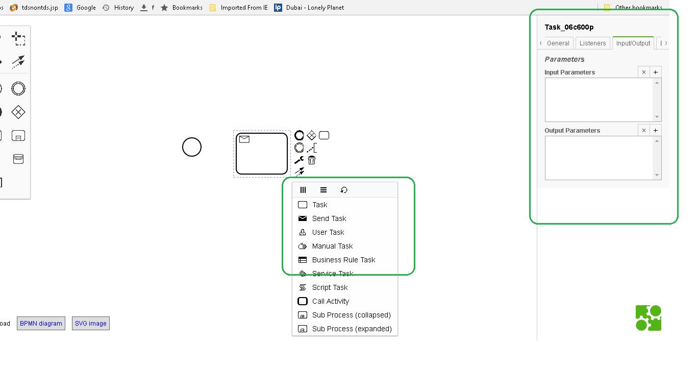 Need to modify bpmn js property panel and menu developers need to modify bpmn js property panel and menu pooptronica Choice Image