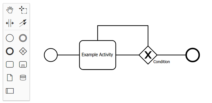 Sequence flow arrow is not shown modeler forum bpmn is it related to css styles or js logic or lack of some files import here is an screenshot ccuart Images