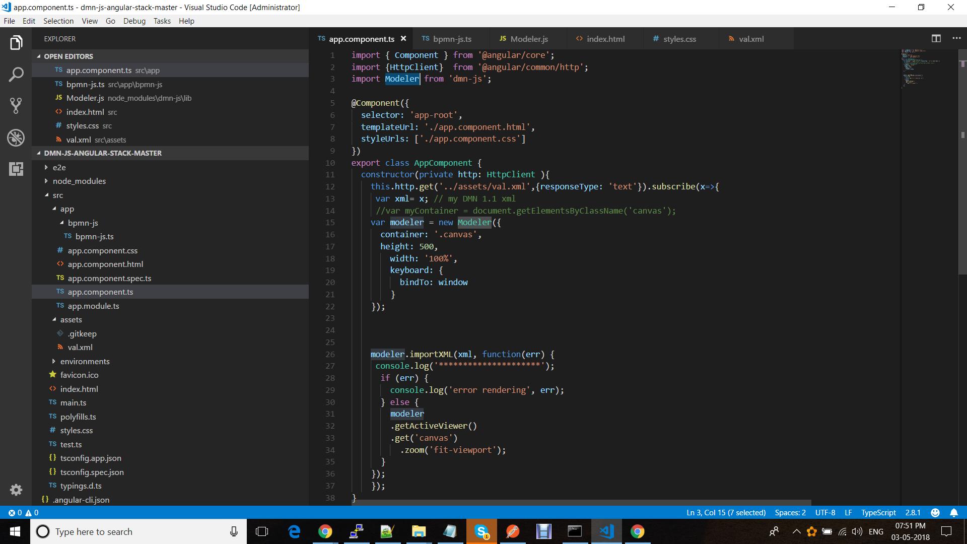Dmn-js Moduler with Angular 5 - Modeler - Forum - bpmn io